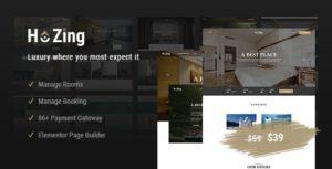 Download free Hozing Hotel Booking v1.0.6 – WordPress Theme