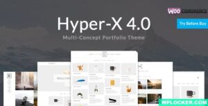 Download free HyperX v4.9.4 – Portfolio for Freelancers & Agencies