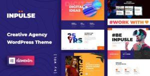 Download free InPulse v1.0.8 – Creative Agency WordPress Theme