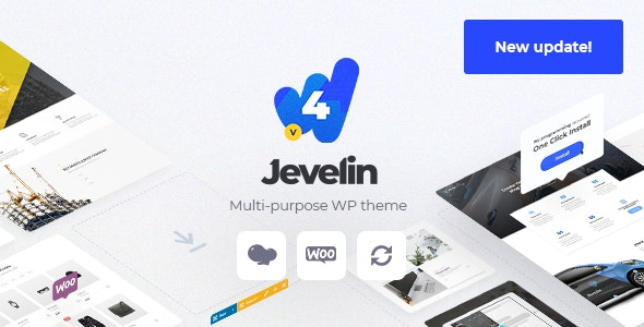 Download free Jevelin v4.6.9 – Multi-Purpose Premium Responsive Theme