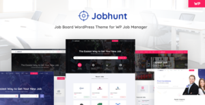 Download free Jobhunt v1.2.4 – Job Board theme for WP Job Manager