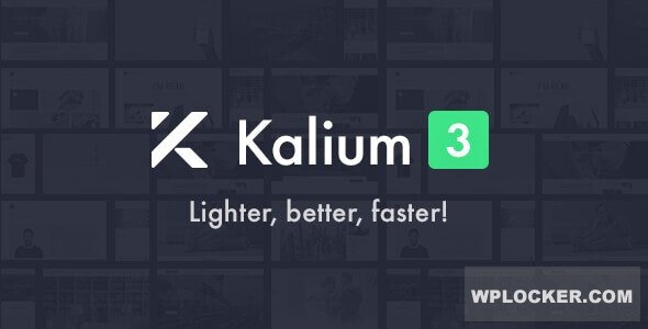Download free Kalium v3.0.3 – Creative Theme for Professionals