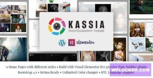 Download free Kassia v1.0 – Photography WordPress Theme