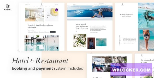 Download free Kastel v1.0.1 – Hotel & Restaurant WordPress Theme