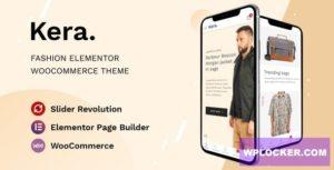 Download free Kera v1.0 – Fashion Elementor WooCommerce Theme