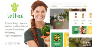 Download free Lettuce v1.1 – Organic Food & Eco Products Theme