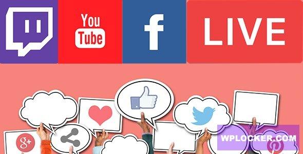Download free Livestream Social For WordPress v1.2.1