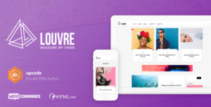 Download free Louvre v1.1.0 – Minimal Magazine and Blog Theme