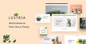Download free Lustria v1.7 – MultiPurpose Plant Store WordPress Theme