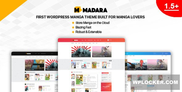 Download free Madara v1.6.4 – WordPress Theme for Manga