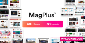 Download free MagPlus v6.1 – Blog & Magazine WordPress Theme