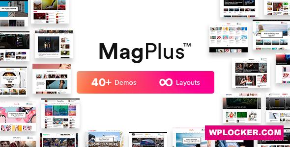 Download free MagPlus v6.1 – Blog & Magazine WordPress Theme