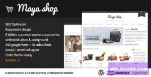 Download free MayaShop v3.7.7 – A Flexible Responsive e-Commerce Theme