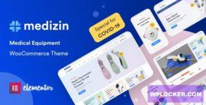 Download free Medizin v1.0.6 – Medical Elementor WooCommerce Theme