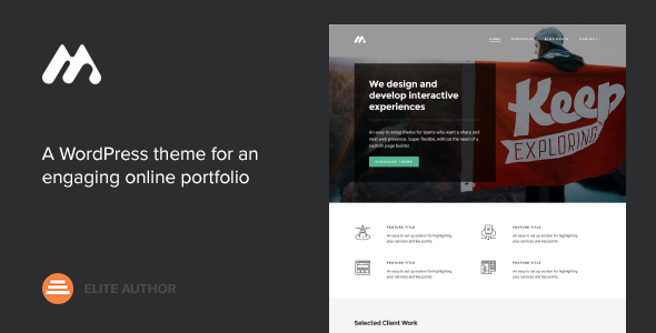 Download free Meth v2.2.0 – A Minimal One Page Portfolio Theme