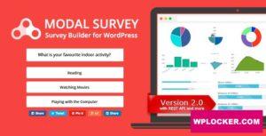 Download free Modal Survey v2.0.1.3 – Poll, Survey & Quiz Plugin