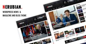 Download free Nerubian v2.0.0 – A Modern News & Magazine Theme