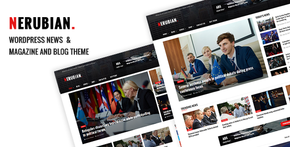 Download free Nerubian v2.0.0 – A Modern News & Magazine Theme