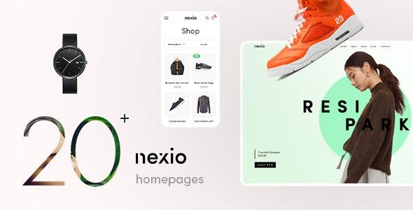 Download free Nexio v1.2.0 – Fashion WooCommerce Theme + RTL