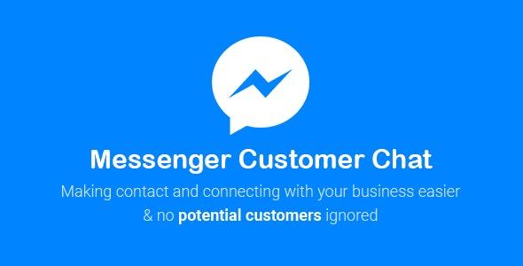 Download free NinjaTeam Facebook Messenger for WordPress (Live Chat version) v2.8.2
