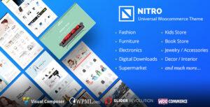 Download free Nitro v1.7.8 – Universal WooCommerce Theme