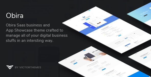 Download free Obira v1.9.3 – SaaS Business & App Showcase WordPress Theme