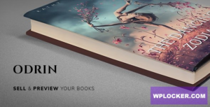 Download free Odrin v1.3 – Book Selling WordPress Theme for Writers