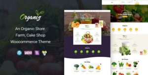 Download free Organiz v1.8 – An Organic Store WooCommerce Theme