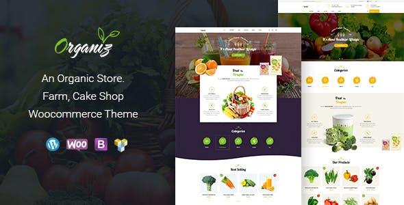 Download free Organiz v1.8 – An Organic Store WooCommerce Theme
