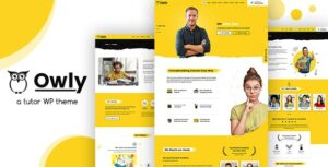 Download free Owly v1.8 – Tutor, Training WordPress, elearning Theme