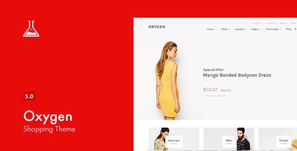 Download free Oxygen v5.4 – WooCommerce WordPress Theme