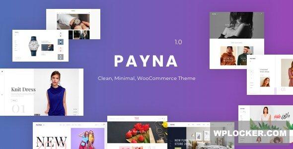 Download free Payna v1.0.8 – Clean, Minimal WooCommerce Theme