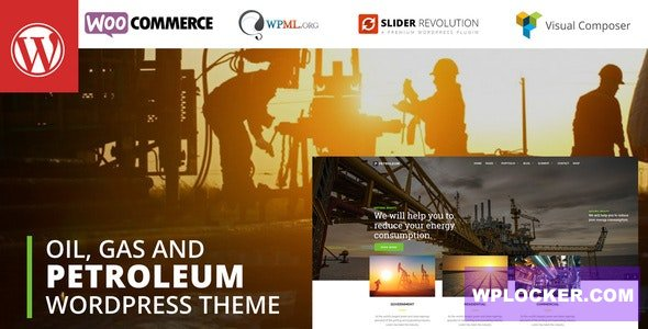 Download free Petroleum v3.3 – Oil and Gas Industrial WordPress theme