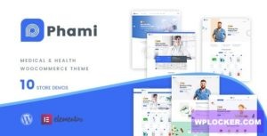 Download free Phami v1.0.4 – Medical & Health WooCommerce Theme