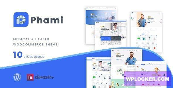 Download free Phami v1.0.4 – Medical & Health WooCommerce Theme