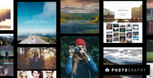 Download free Photography v6.4.1 – Responsive Photography Theme