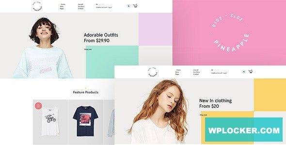 Download free Pineapple v2.2.0 – Fashion WooCommerce WordPress Theme