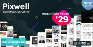 Download free Pixwell v4.5 – Modern Magazine