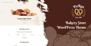 Download free Porus v1.0.2 – Bakery Store WordPress Theme