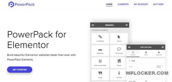 Download free PowerPack for Elementor v1.5.0