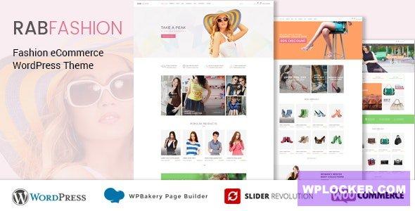 Download free RAB v1.2.7 – Fashion eCommerce WordPress Theme