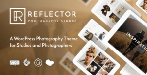 Download free Reflector v1.1.4 – Studio Photography WordPress Theme