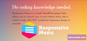 Download free Responsive Menu Pro v3.1.28