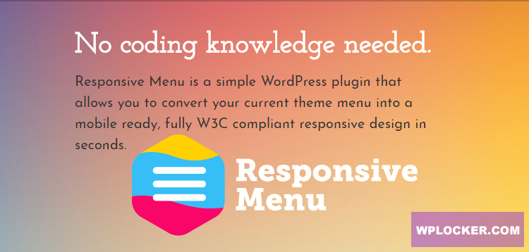 Download free Responsive Menu Pro v3.1.28
