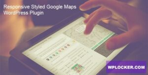 Download free Responsive Styled Google Maps v5.0