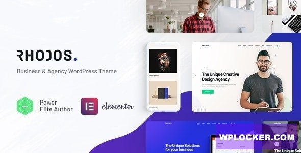 Download free Rhodos v1.3.3 – Multipurpose WordPress Theme for Business