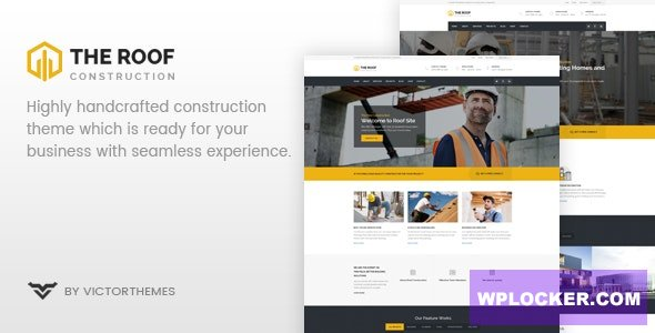 Download free Roof v2.3 – WP Construction, Building Business