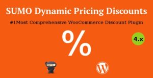 Download free SUMO WooCommerce Dynamic Pricing Discounts v5.0