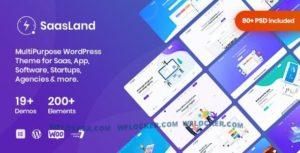 Download free SaasLand v3.1.7 – MultiPurpose Theme for Saas & Startup
