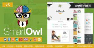 Download free SmartOWL v3.2 – LMS Education WordPress Theme + RTL